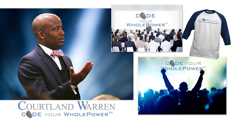 Rebranding motivational speaker Courtland Warren