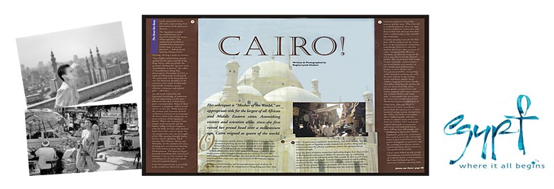 Award Winning Article Brings Attention to Cairo